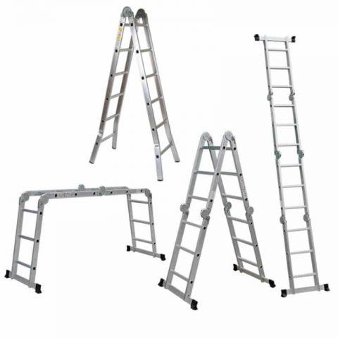 Ladder making machine for folding ladder