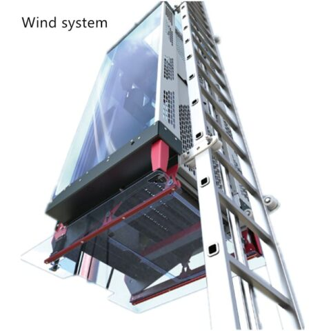 Wind turbine system Aluminum ladder processing machine