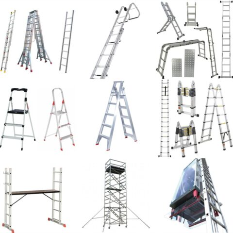 Aluminum Ladders Making Machine Applications