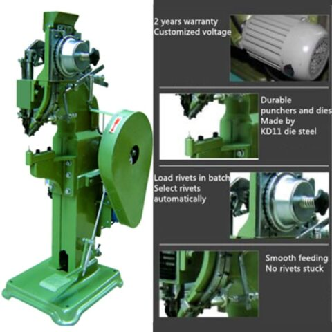 Auto feed riveting machine