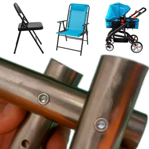 Automatic feeding rivet machine for folding chair bench chair baby prams
