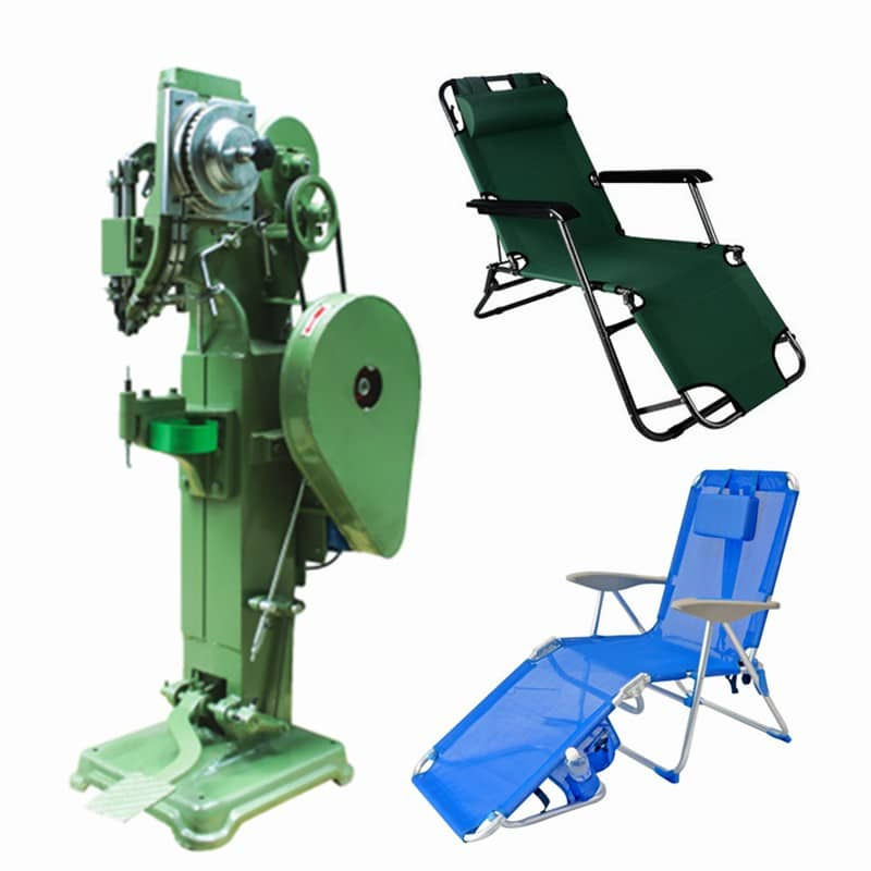 beach chair auto feed riveting machine rivetmach machinery black bedroom furniture sets home. Black Bedroom Furniture Sets. Home Design Ideas