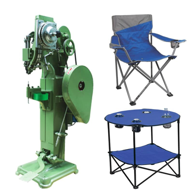 Camping Chair Table Automatic Riveting Machine Rivetmach