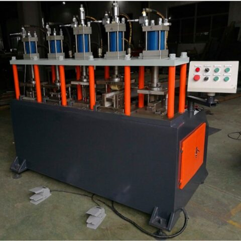 Multi-purpose punching machine for ladder profile