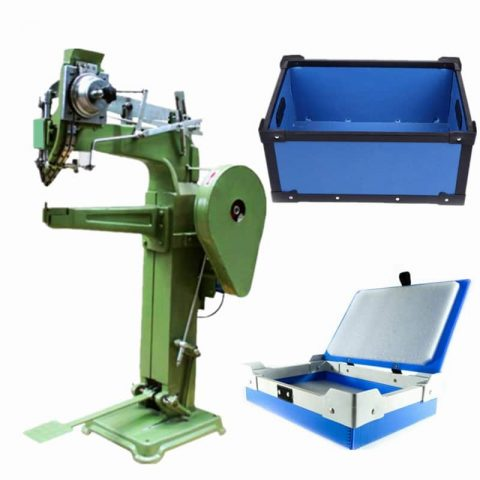 PP corrugated box riveting machine