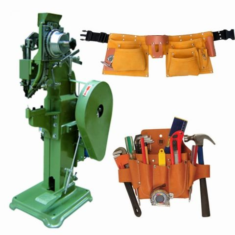 Tools Bag Pouch Automatic Riveting Machine