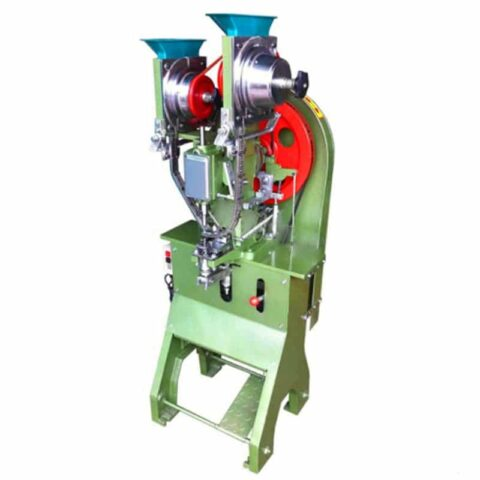 Automatic curtain eyelet machine