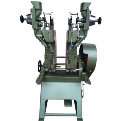 Double Heads Adjustable Automatic Riveting Machine
