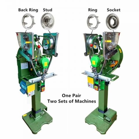 Ring Snap Button Fully Automatic Snap Machine