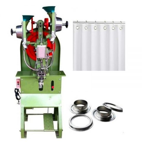 Shower Curtain Automatic Grommet Machine