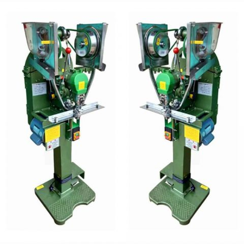 Snap Button Automatic Press Attaching Machine