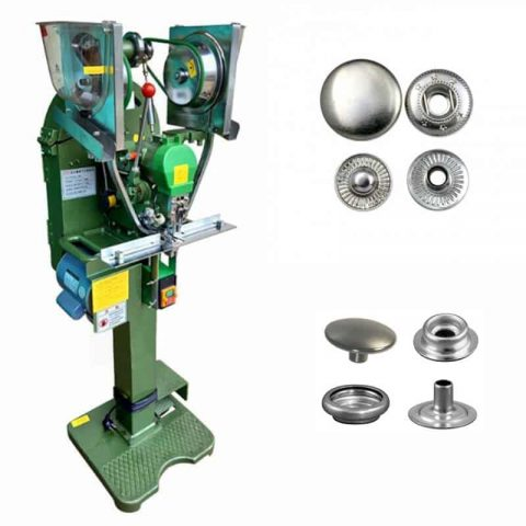 Spring Snap Button Fully Automatic Attaching Machine