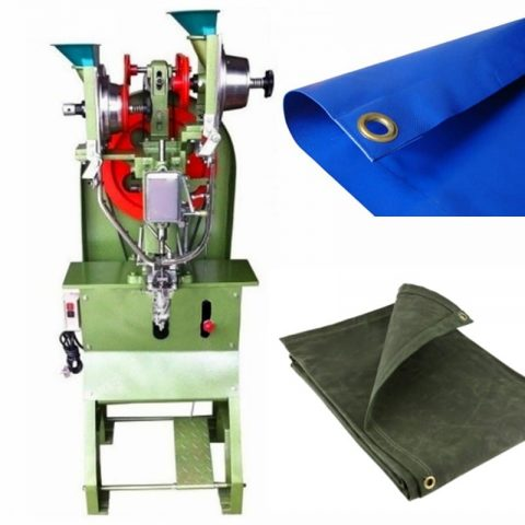 Tarpaulin Self-piercing Fully Automatic Eyelet Machine
