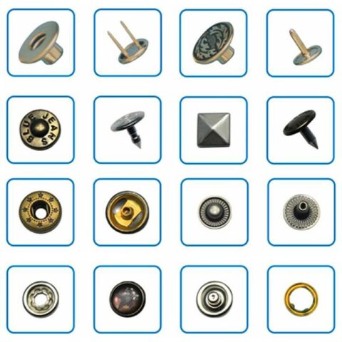 Different kinds of Snap Button