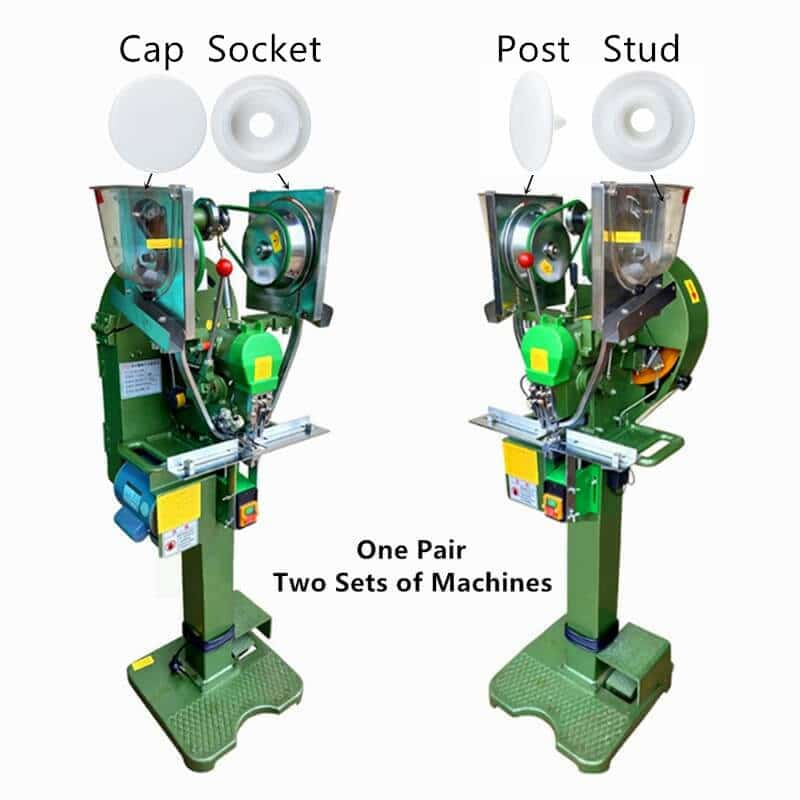 Fully Automatic Plastic Snap Fastener Machine