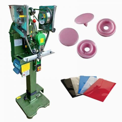 Plastic Button Fully Auto Snap Fastener Machine