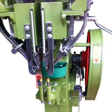Adjustable Twin Heads Auto Feed Rivet Machine