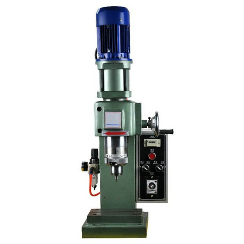 Brake Lining Rivet Setter : Bench type pneumatic orbital riveting machine rivetmach