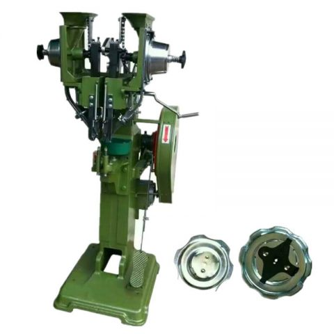 Small Distance Adjustable Twin Heads Automatic Rivet Machine