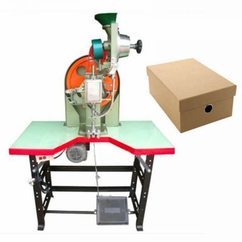 Shoe Box Automatic Eyelet Attaching Machine