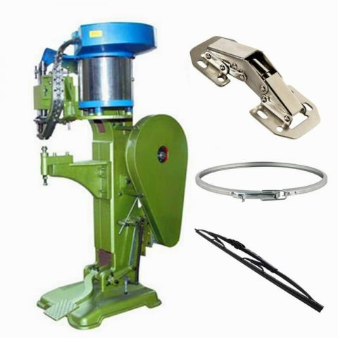 Vibratory Bowl Feeder Automatic Riveting Machine