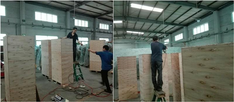 RMI riveting machine wooden box packing