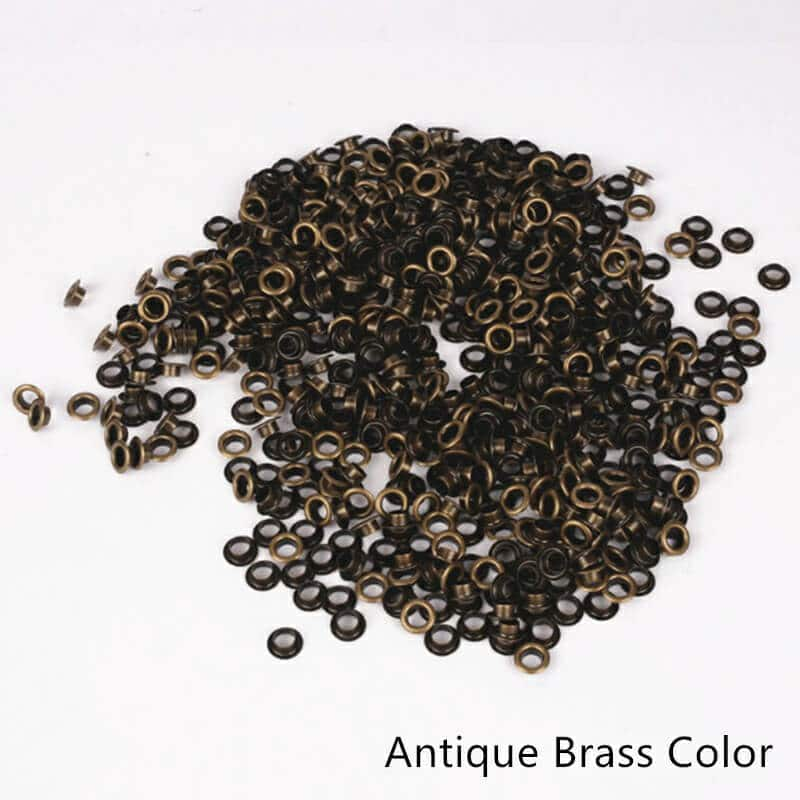 Tags Label Eyelets Antique Brass Color