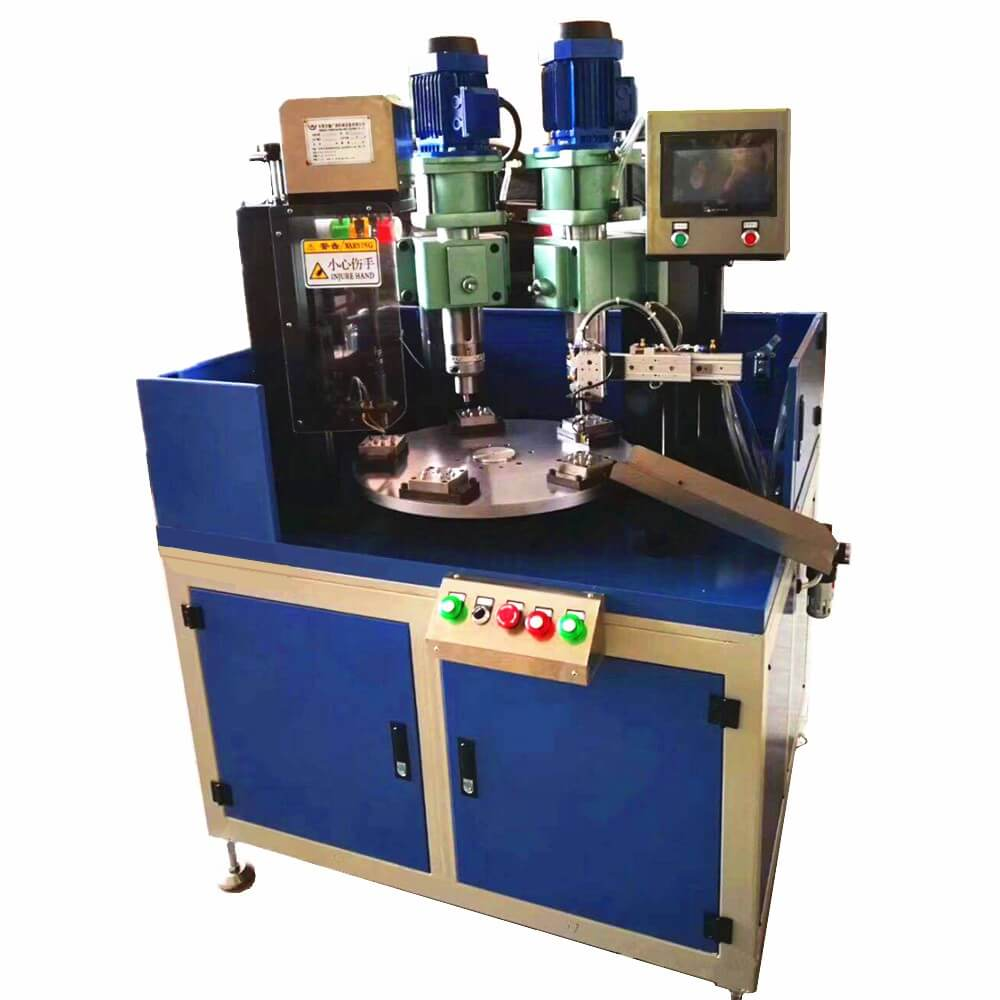 Indexing Plate Hydraulic Orbital Riveting Machine