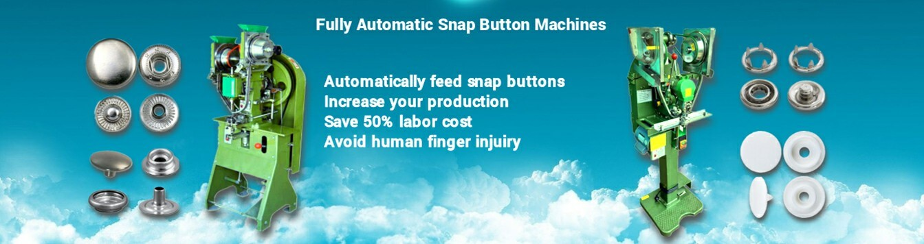 Fully Automatic Snap Button Fastener Machines