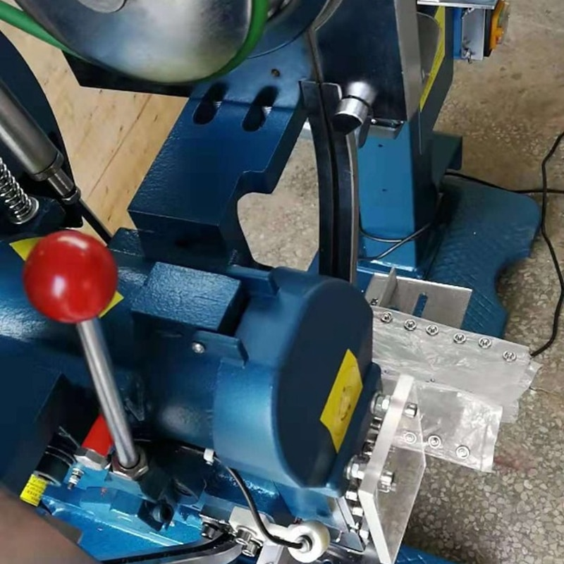 Automatic Snap Button Attaching Machine View